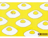 8×10 Art Print  -Escape to Sunny-side up-