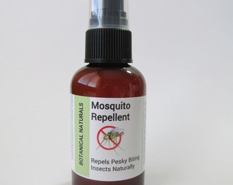 Natural Mosquito Repellent , Bug Spray, Essential Oil Insect Repellent