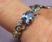 Wire Wrap Fancy Ring With...