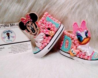 Minnie Vs Daisy Converse