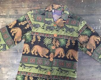 Safari Print Carpet Jacket