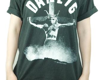 Vintage DANZIG shirt UNCENSORED 1990 Concert shirt Band Tee Danzig shirt Danzig Tee The Misfits shirt Samhain shirt 1990 shirt Metal XL