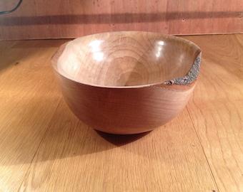 Handcrafted (Beech) Wooden Bowl