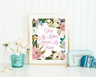 Mothers Day Gift for Mom - Mothers Day Gift - Mothers Print - Mother's Day Gift - Gift for Mom - Instant Download, 8x10 Printable