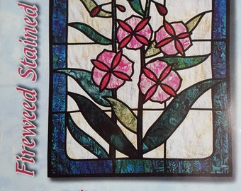 Stain Glass Quilt Pattern - Sew EASY to Make