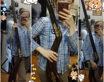 Custom made - Hellsing Rip van Winkle cosplay musket gun