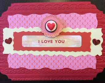 Homemade Card - Valentine