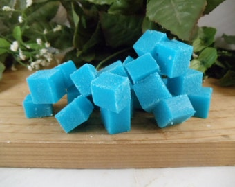 25 Bulk Sugar Cube Scrubs- Great Hostess Gifts-Bridal Showers Gifts- Gentle Exfoliation