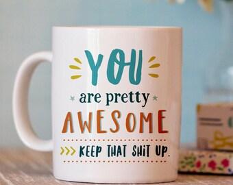 Funny Coffee Mug - Funny Mug - Ceramic Mug - Coffee Mug Humor