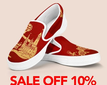 FIFA World Cup Slip On Shoes, World Cup Items, Soccer Football, FIFA World Cup 2018 Russia, world cup shoes, Nigeria World Cup Pattern Shoes