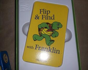 Vintage franklin memory card game