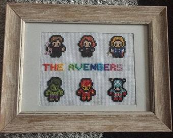 Marvel The Avengers Cross Stitch Frame