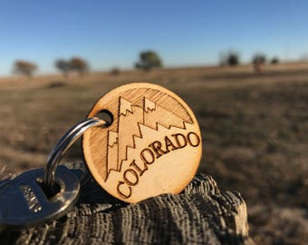 Colorado Mountains Key-chain / Charm