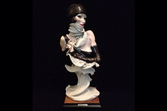 """FREE SHIPPING-Fabulous-Made In Italy-Giuseppe Armani-1989-Signed-13 3/4""""-523-C-Mystery-Sculpture"""