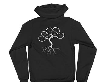 Hoodie sweater featuring Sonora Kay Tree of Life Logo