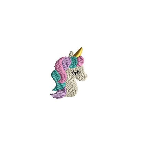 Machine Embroidery Design Mini Unicorn