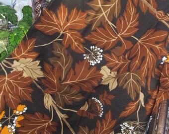 "42"" x 28"" Autumn Foliage Fabric Remnant"