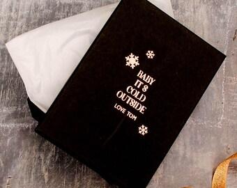 Personalised Christmas Keepsake Gift Box