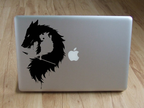 Princesse mononoke sticker pour ordinateur portable macbook - Ordinateur princesse ...