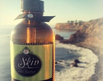 Shea oil 2 or 4 oz || TOBACCO scented body oil || vegan bath oil || shea oil  || moisturizing oil || after shower oil || body oil gift