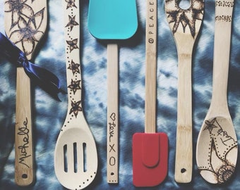 Custom Wooden Utensils
