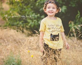 Baby/toddler Superhero TEE
