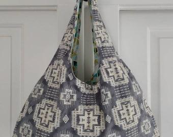 Reversible Hobo Bag/ Purse