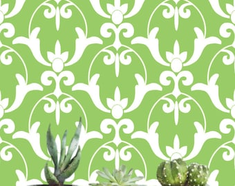 Removable wallpaper/Wallpaper/Peel and Stick/Self adhesive wallpaper/Modern Wallpaper /Greenery wallpaper S152