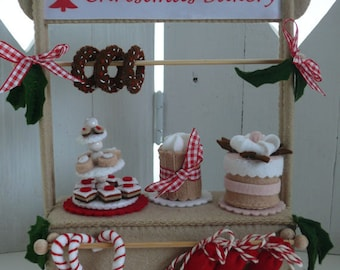 The Christmas Bakery - The Shop - PDF pattern - Download - without the Baker.