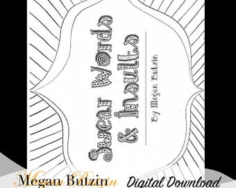 Swear Words & Insults Coloring Book