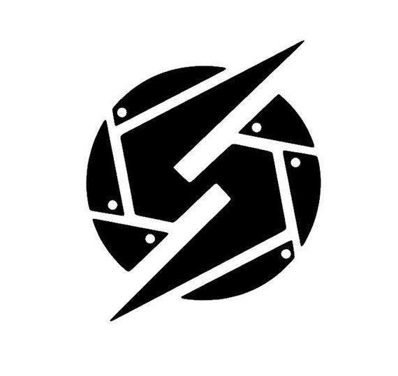 Metroid Logo Samus Decal Sticker