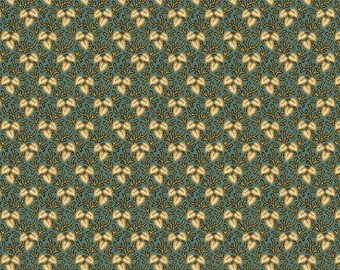 Giggleswick Mill Leaves on Vines Fabric by Andover A-8222-T
