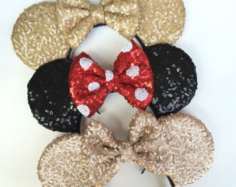Sequins Mouse Ears