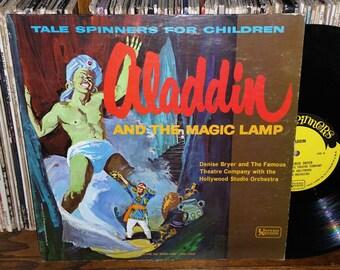 Aladdin And The Magic Lamp RARE Vintage Vinyl Record