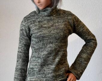 1/3 green sweater short collar | BJD SD/Smartdoll 60cms