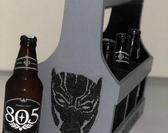 Black Panther Beer Caddy