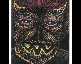In the Face of Fear #2 - Color Drawing