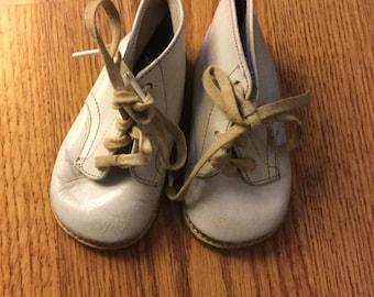 Vintage leather shoes