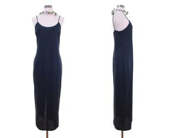 slip dress lingerie dress minimalist dress festival clothing blue slip dress grunge dress 90s grunge festival dress 90s dress women clothing