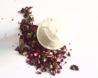 Organic Body Butter Natural Body Butter Organic Lotion Rose Body Lotion Body Cream Natural Lotion Hand Lotion Whipped Lotion Vegan Skincare