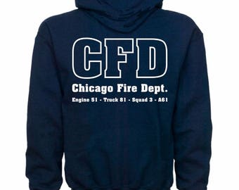 Chicago Fire Department Hoodie