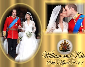 Royal Wedding Prince William & Kate Middleton Souvenir Magnet 2.5 x 3.5