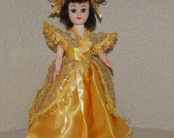 Vintage Blue Bonnet Storybook Doll, Cinderella