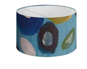 """Floral Lamp Shades """"Antigua Blooms"""" Limited Edition Print - 40 cm"""