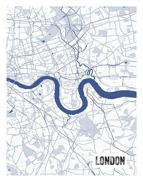 London england uk blueprint map portrait poster art print several gallery photo gallery photo malvernweather Images