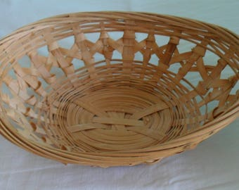 Oval basket Wicker 18 cm