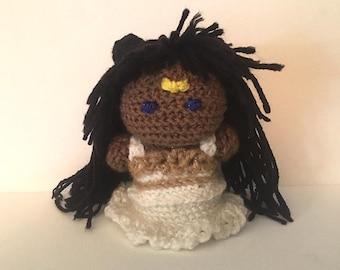 Princess Serenity Crochet Doll