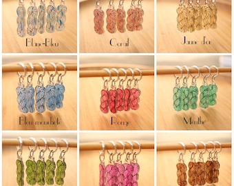 Set of 5 stitch markers knitting - United skeins