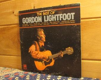 Gordon Lightfoot - The Best Of Gordon Lightfoot - 33 1/3 Vinyl Record
