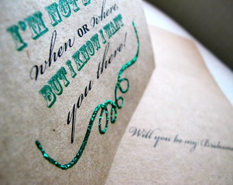 Bridesmaid Proposal Card